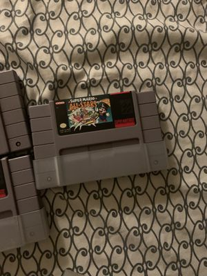 Super Nintendo games for Sale in Los Angeles, CA
