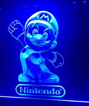 NEW NINTENDO LED Sign for Game Room,Office,Bar, MARIO BROS. US SELLER! for Sale in Las Vegas, NV