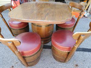 Barrel table set was $600 for Sale in Reynoldsburg, OH