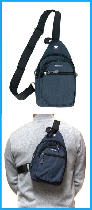 NEW! SMALL compact Side Bag Crossbody bag chest bag sling gym pouch biking hiking day pack edc backpack travel bag for Sale in Los Angeles, CA