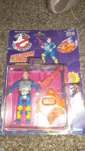 The real ghost busters vintage action figure screaming heroes in box open box no missing pieces for Sale in Tracy, CA
