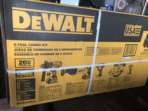 Dewalt battery power tools combo for Sale in Framingham, MA