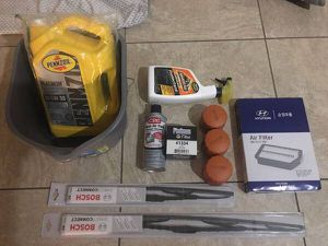 NEW 2015-2019 Hyundai Sonata parts, oil, filter and more for Sale in Las Vegas, NV