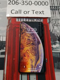 Unlocked iphone Xs Max for Sale in Lake Forest Park,  WA