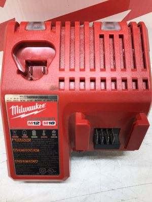 Milwaukee M12 and M18 12-Volt/18-Volt Lithium-Ion Multi-Voltage Battery Charger for Sale in Bakersfield, CA