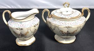 Vintage Hand Painted Nippon Fine China Sugar Bowl and Porcelain Pitcher for Sale in Fort Washington, MD