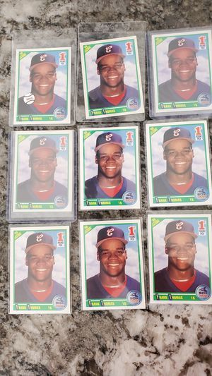 Lot of 9 FRANK THOMAS 1990 SCORE ROOKIES all for$25 for Sale in Clovis, CA