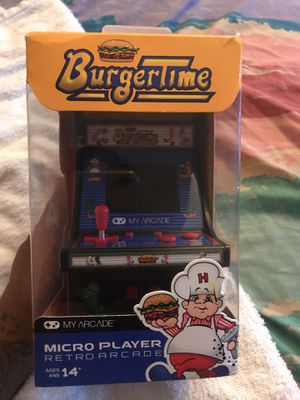 "Micro arcade player ""burger time game"" for Sale in Columbus, OH"