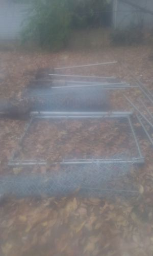 Chain link fence and gate for Sale in Columbia, MO