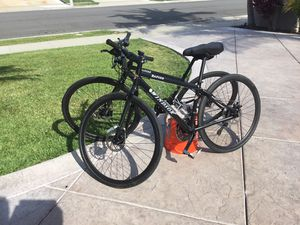 Straight bar road bikes with disk brakes for Sale in Huntington Beach, CA