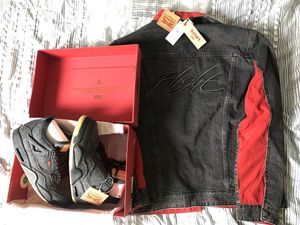 Nike Air Jordan IV 4 Levi Black Size 8.5 9.5 11.5 for Sale in BOWLING GREEN, NY