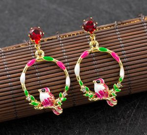 Colorful Betsey Johnson crystal birds dangle earrings. Brand new for Sale in Panama City Beach, FL