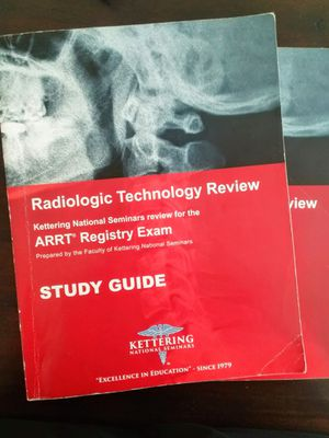 Radiologic Technology Review-Kettering National Seminars for Sale in San Jose, CA
