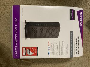 Netgear WiFi cable modem router for Sale in Plano, TX