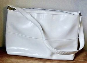 Vintage Retro Kate Spade New York Made In Italy Handbag Ivory Shoulder Bag for Sale in Chapel Hill, NC