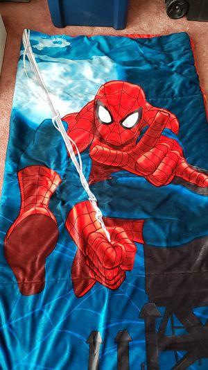 Spiderman kids sleeping bag for Sale in Riverbank, CA