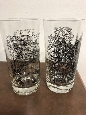 1978 Cincinnati pair of collectible glasses for Sale in Hamilton, OH