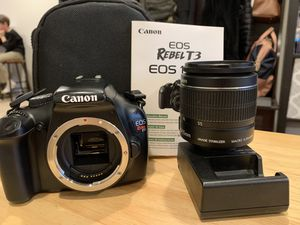 Canon Rebel T3 for Sale in Mahopac, NY