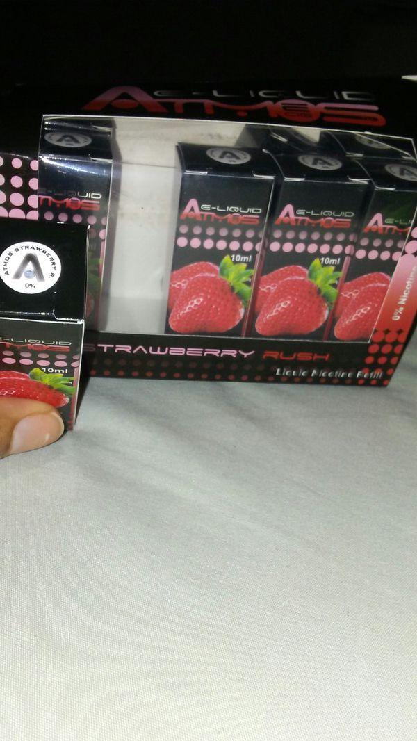 Strawberry Rush 🍓 10ml E-liq