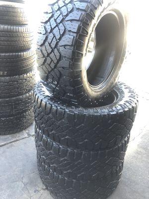 325/60R20 GoodYear All Terrain tires (4 for $380) for Sale in Santa Fe Springs, CA