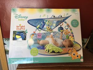 New Disney Baby Lights & Sounds Activity Gym & Play Mat for Sale in Waldo, OH
