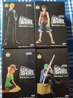 One piece figure set of 4 onepiece anime for Sale in Hialeah, FL