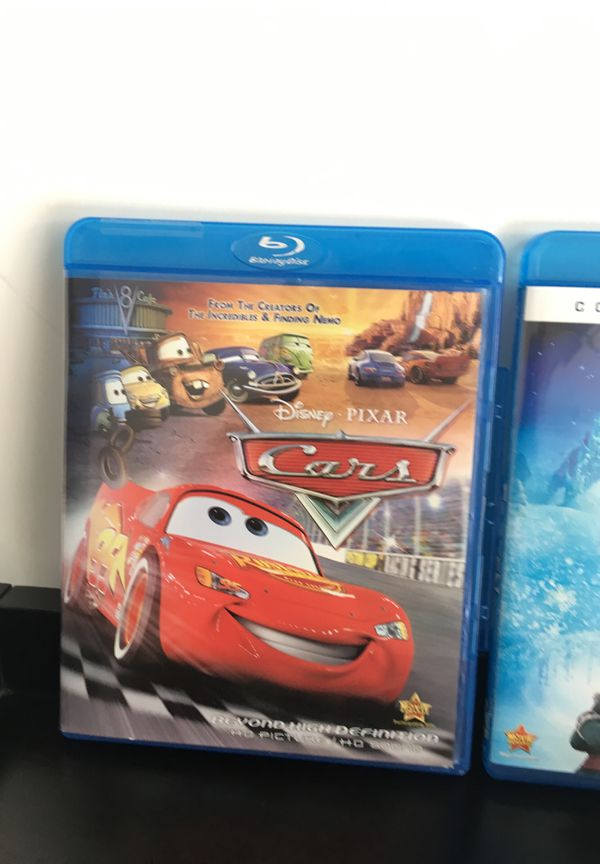 Disney's Cars and Frozen movies on Blu-ray
