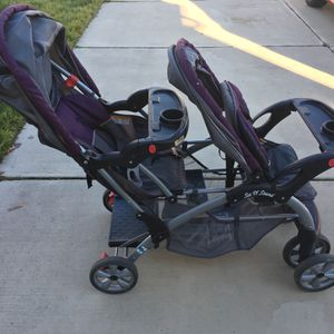 Baby Double Stroller for Sale in Charlotte, NC