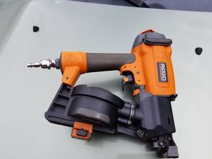 Nail gun roofing Ridgid for Sale in Brockton, MA