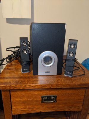 Creative sound system with great bass for Sale in Portland, OR