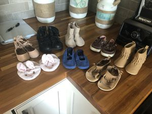 Baby girl shoes size 3 for Sale in Colorado Springs, CO