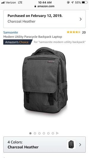Samsonite Modern Utility Laptop Backpack for Sale in Chicago, IL