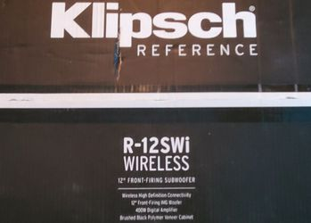 Klipsch R-12SWi BNIB SEALED subwoofer for Sale in Downers Grove,  IL