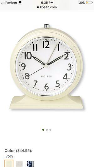 Big Ben 1931 Alarm Clock - Ivory for Sale in Kirkland, WA