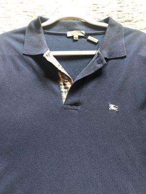 Burberry Polo Navy Blue XXL for Sale in Rancho Cordova, CA