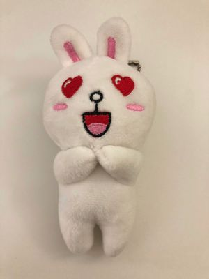 Rabbit stuffed toy , key doll,keychain, bag chain for Sale in Los Angeles, CA