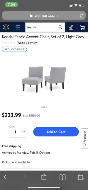 Brand new set of chairs for Sale in San Francisco, CA