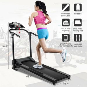 Title: Folding Treadmill Electric Motorized Power Running Jogging Fitness Machine (FINANCE AVAILABLE) Description: SECURE STEEL CONSTRUCTION - Ultra- for Sale in Houston, TX