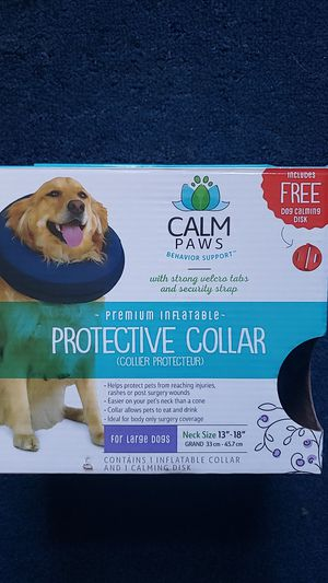 Inflatable Protective Dog Collar for Sale in Pawtucket, RI