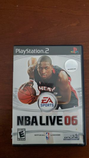 NBA LIVE 06 for Playstation 2 Ps2 complete in box for Sale in Lilburn, GA