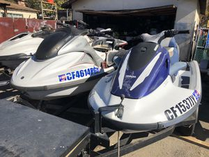 Two Yamaha jet ski with trailer for Sale in Spring Valley, CA
