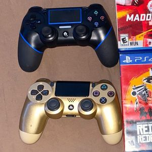 2 Ps4 Controllers. No Problems. for Sale in Denham Springs, LA