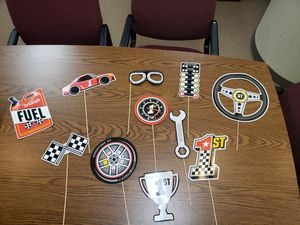 Race car party theme for Sale in Abilene, TX