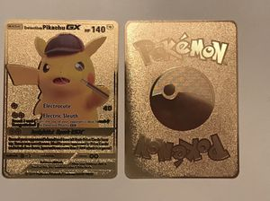 Detective Pikachu Metal Pokemon Card for Sale in West Palm Beach, FL