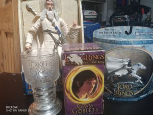 Lord of rings collectors toys for Sale in Bonney Lake, WA