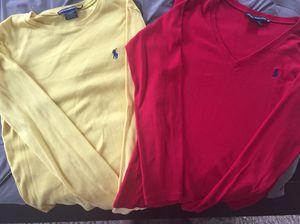 Women's Sized Medium Ralph Lauren Long Sleeved Shirts for Sale in Fort Belvoir, VA