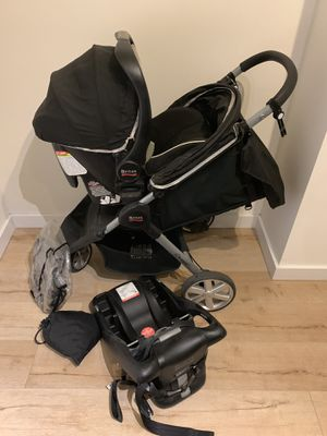 Britax Stroller with 35 Infant Car Seat for Sale in Key Biscayne, FL