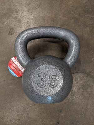 New Kettlebell 35lbs by Weider fitness for Sale in Chino, CA