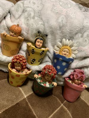 Anne Geddes flower pot babies for Sale in NW PRT RCHY, FL