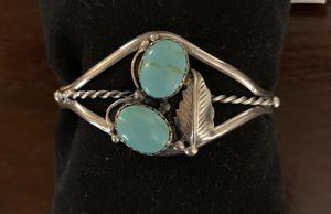 Turquoise silver bracelet for Sale in Woodbridge, VA